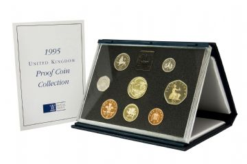 1995 Proof set Blue standard